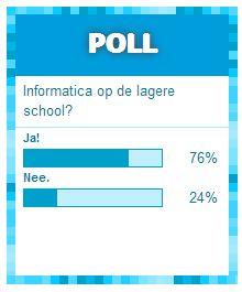 Poll Karrewiet Informaticalessen 15.1.2014