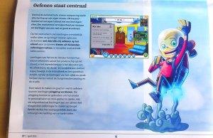 nieuw startscherm voor leerlingen en meer avatarmogelijkheden.
